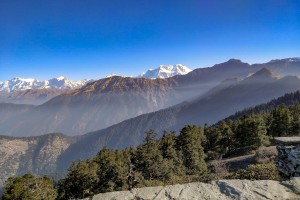 Trekking from Chopta to Tungnath
