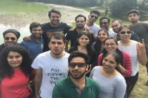 Group at Deoriatal