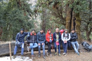 Deoriatal to Chopta Trek