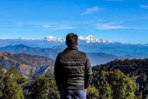 peaks visible from Nagtibba Summit