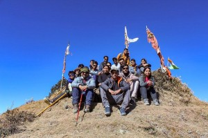 Group at the Summit