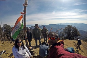 At Summit of Nagtibba