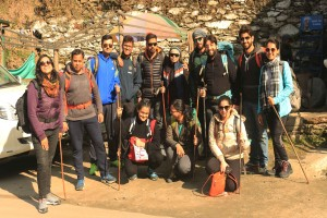 Group at Baggi Village