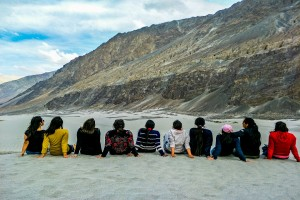 Group at Nubra Valley