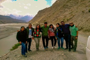 Group during Spiti Valley Road Trip