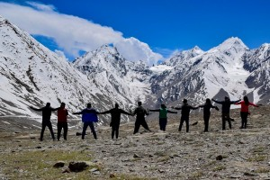 Group in Spiti Valley