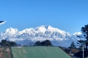View from from Sandakphu