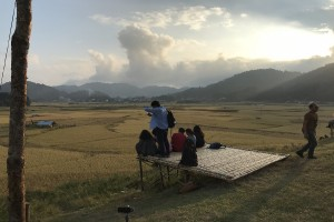 Sunset point Ziro Festival