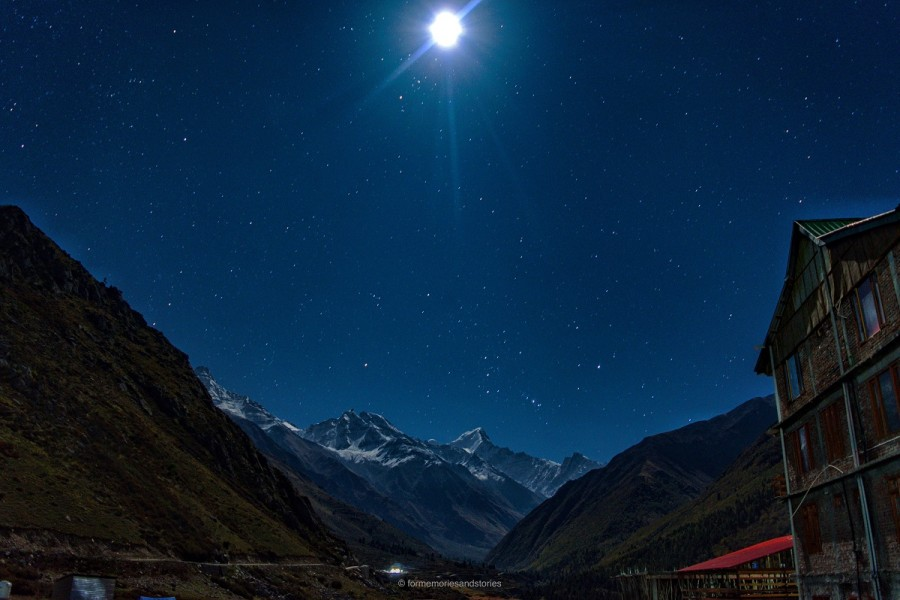 Chitkul at Midnight
