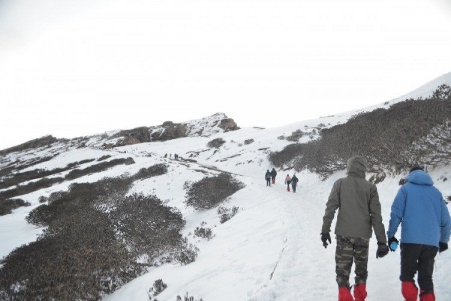 Trek to Tungnath from Chopta