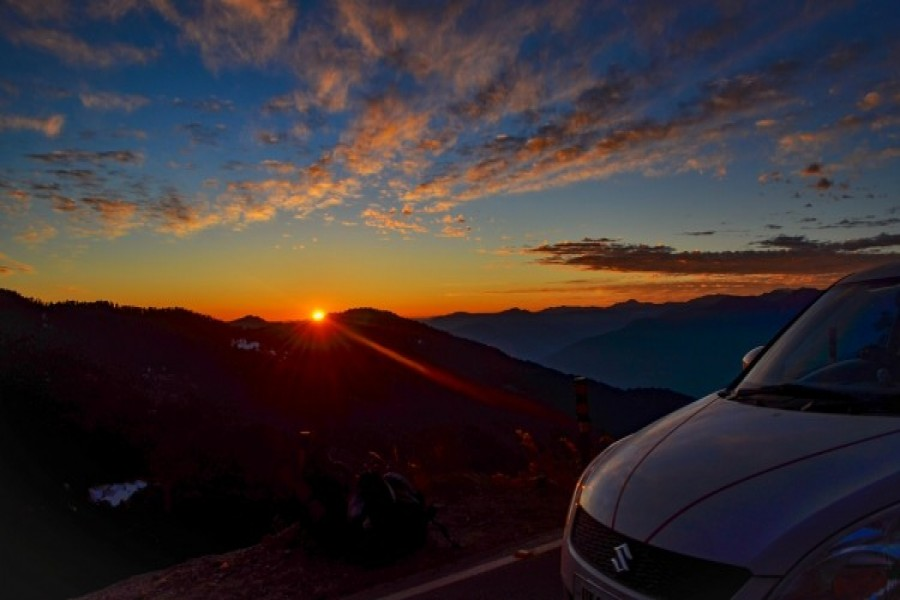 Sunset at Chopta