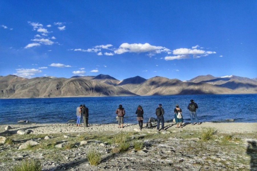 Photography Session at Pangong