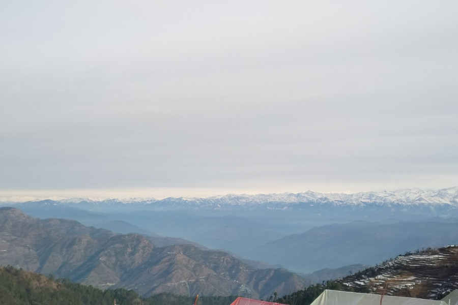 View from Kanatal