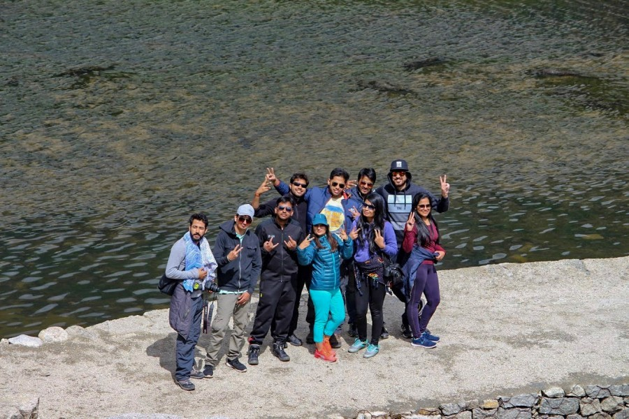 Group at Kareri Lake