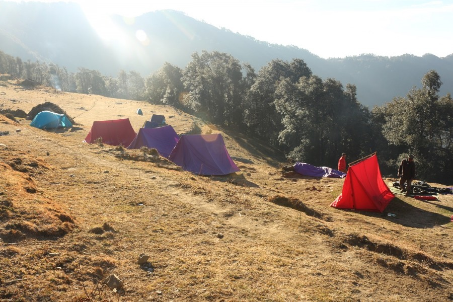 Nagtibba Base Camp