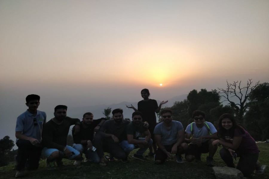 Sunset at Basecamp