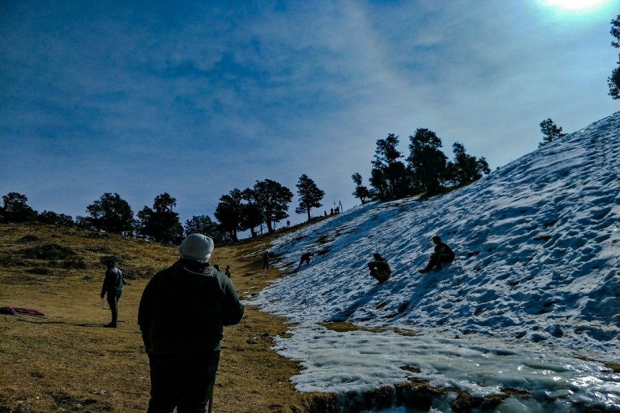 Snow at Nagtibba Summit