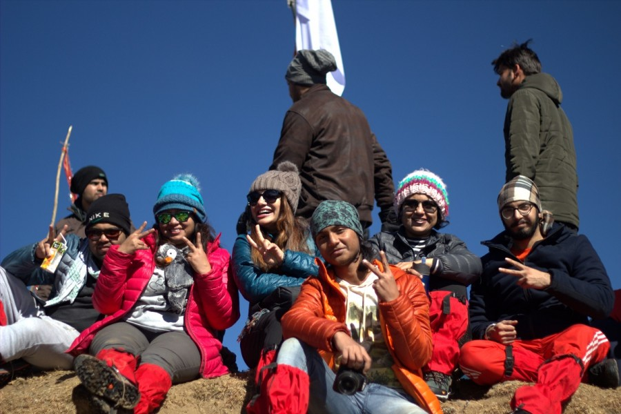 At Nagtibba Summit