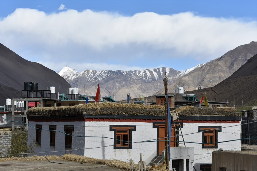 View from Homestay in Spiti